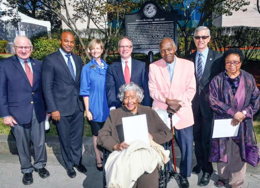 Herndon, Atlanta's first black millionaire, honored with marker