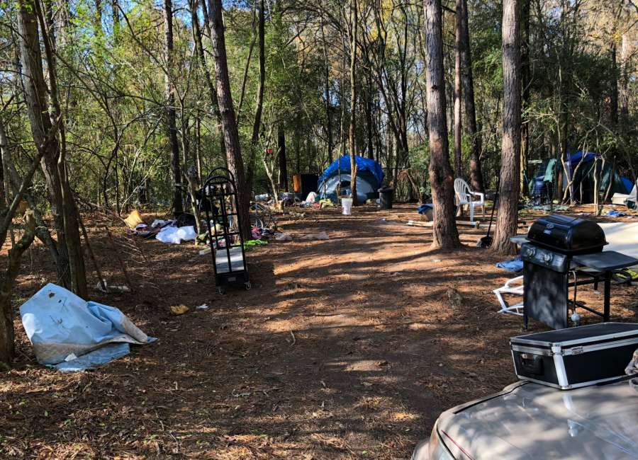 Homeless camps closed; residents not forcibly removed