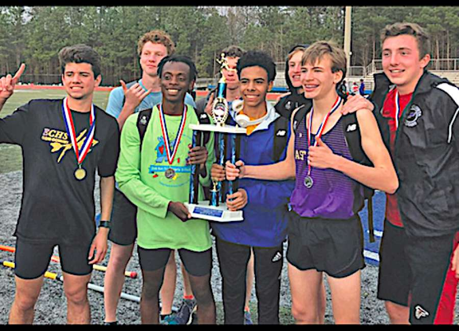 Indians finish first at Westlake Early Bird meet