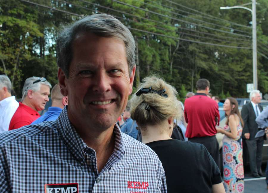 Journalist removed from Kemp campaign event