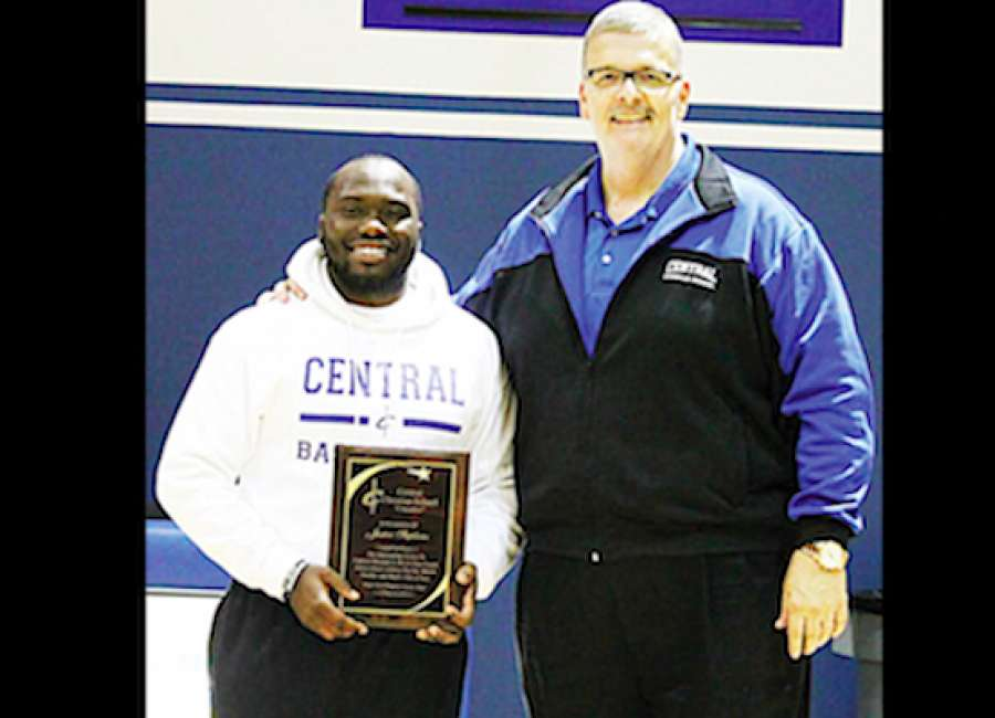 Justin Stephens honored by Central Christian