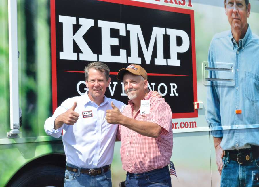 Kemp wins Georgia runoff election for Governor