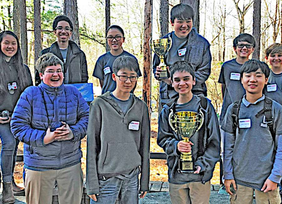 Lee Middle Teams wins Regional Mathcounts competition