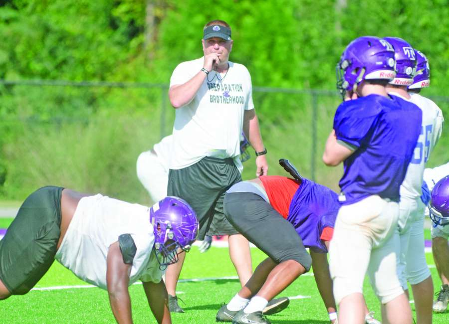 Lions gear up for defending three-time Class A champs