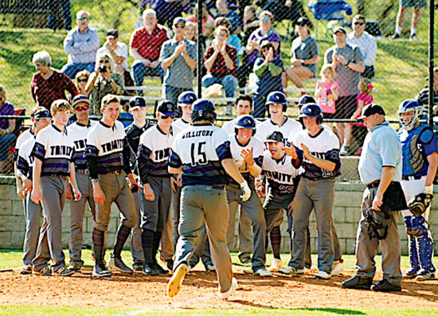 Lions show clout with three homers against rival Heritage
