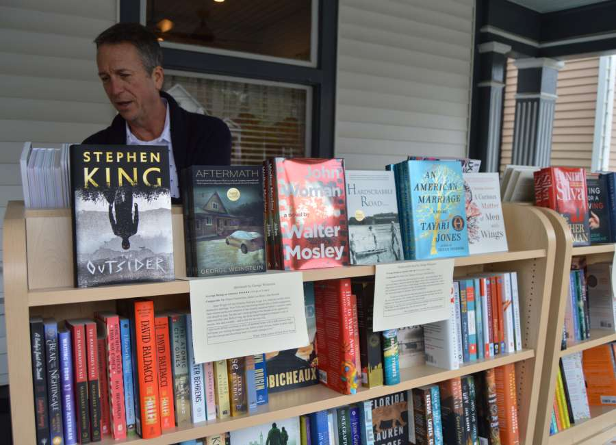 Local author, publisher finds solace in bulldozers and books