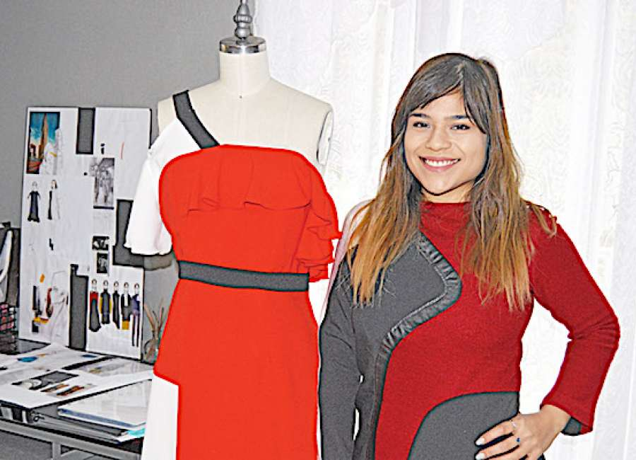 Local designer's clothing line showcased by Belk