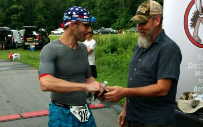 Local doctor wins second place in a 24-hour race