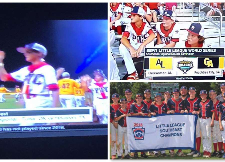 Local trio help Peachtree City reach Little League Series for first time