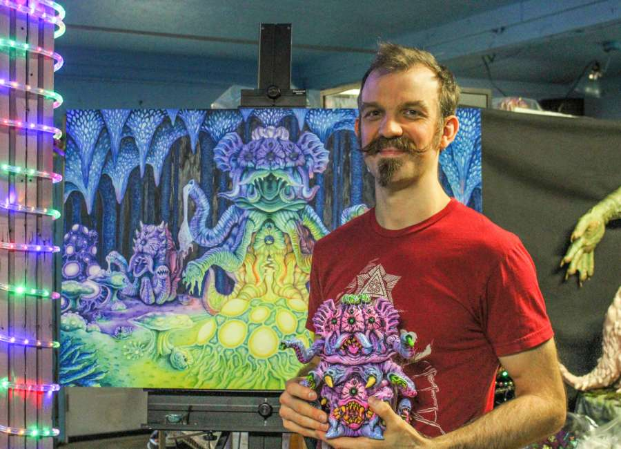 Local Toymaker holds show at art gallery