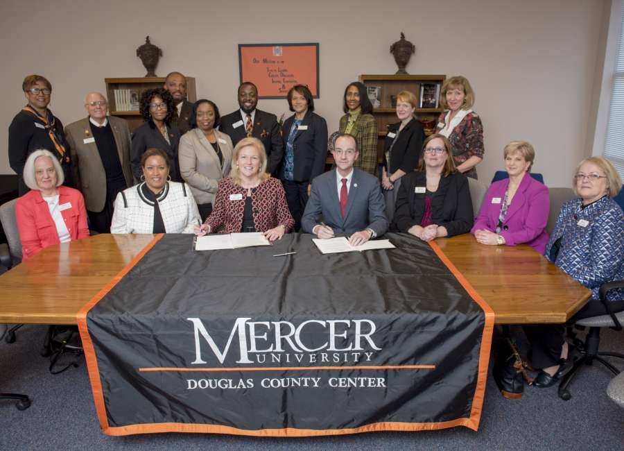 Mercer, West Georgia Tech sign articulation agreement