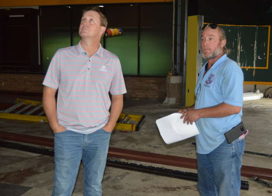 New attractions under construction at Junction Lanes - The