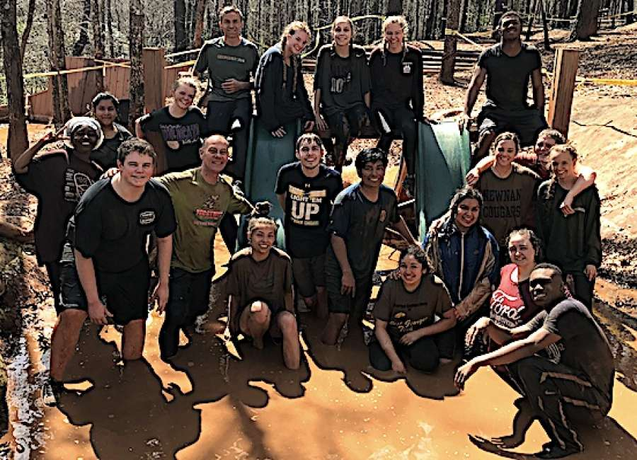 Newnan High School students attend retreat