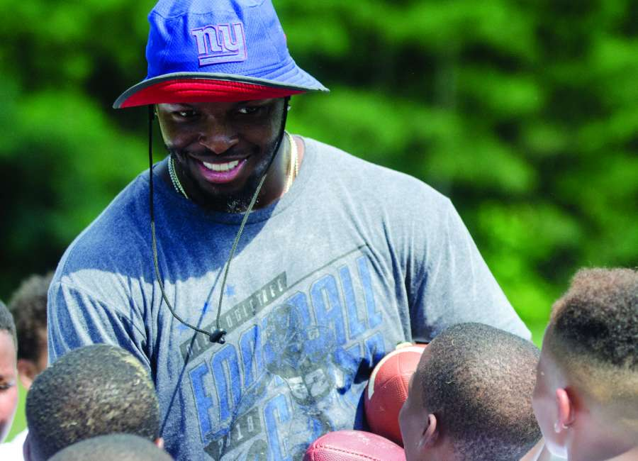 Newnan's Alec Ogletree hosts second annual free football camp