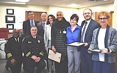 NHS staff recognized for emergency response