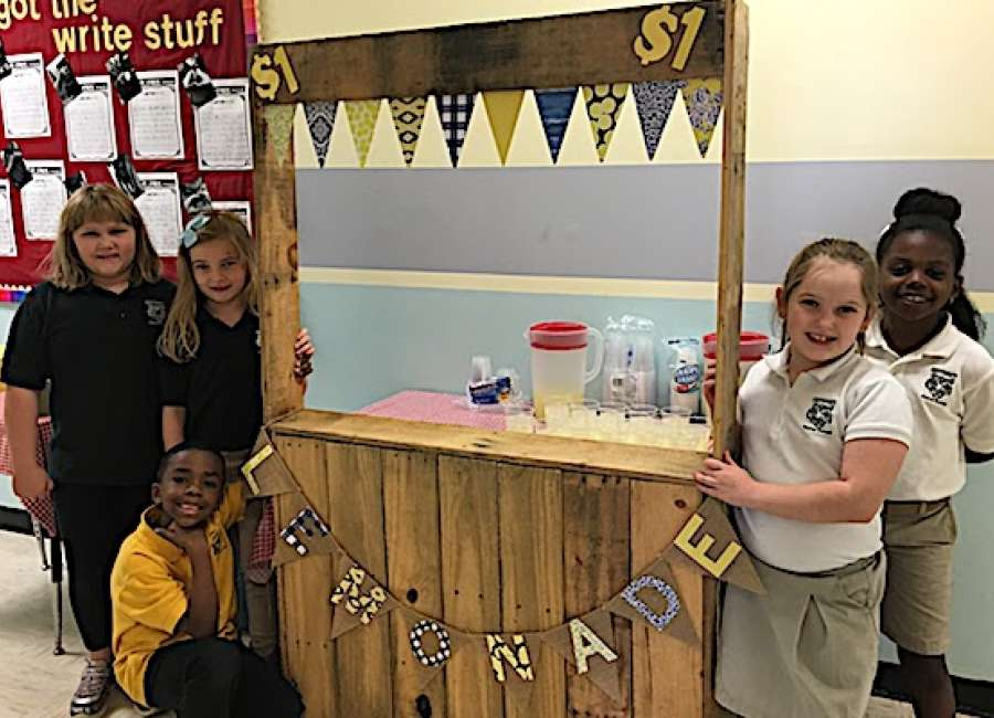Lemonade stand funds full day of cancer research