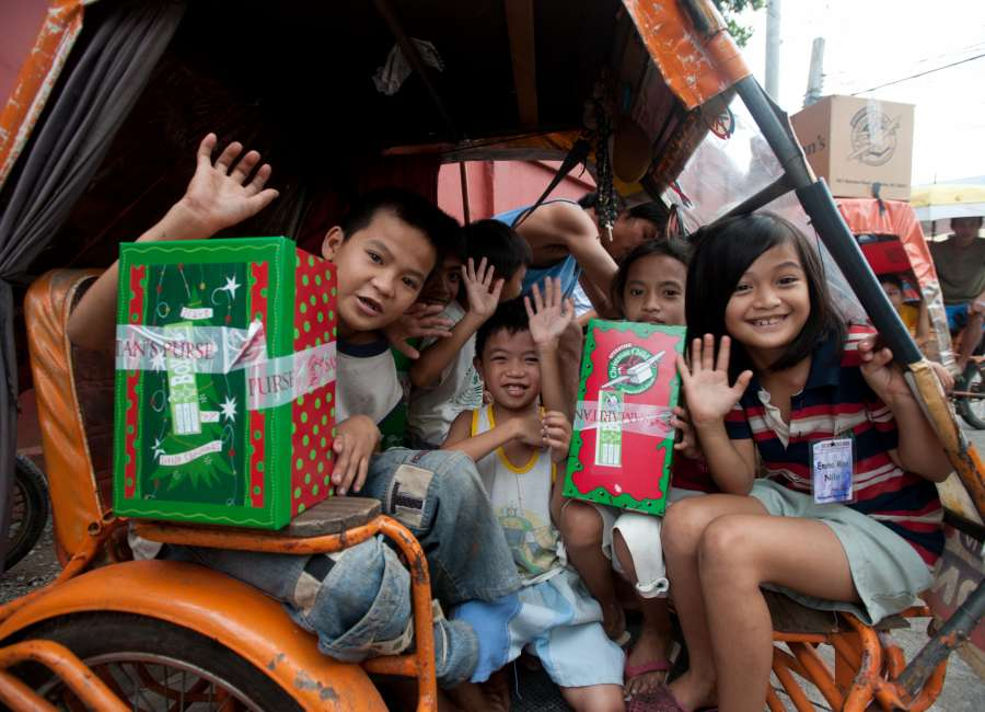 ​  Operation Christmas Child aiming for 20,000 boxes locally