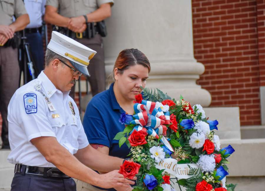 Public safety honors fallen on 9/11