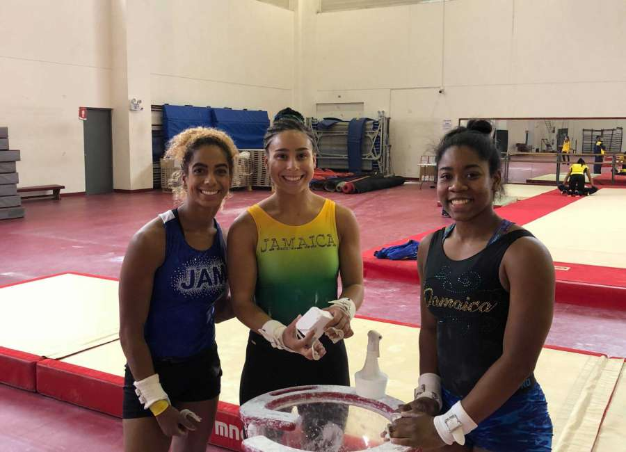 Richmon, Jamaica gymnastics back from Peru