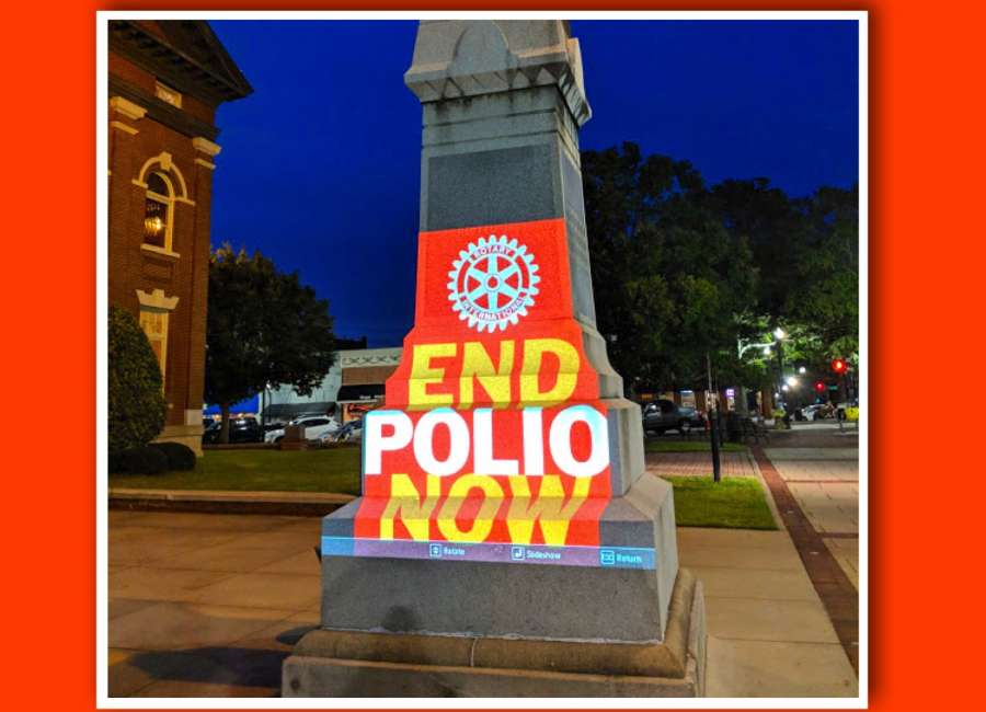 Rotary recognizes World Polio Day