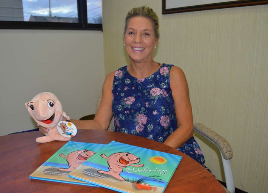 Sea creatures steal spotlight in local author's new book