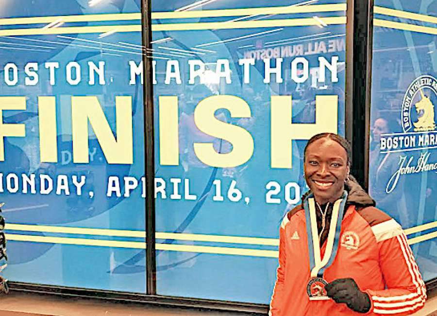 Stephens shares Boston marathon experience
