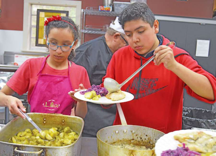 Students graduate from culinary classes