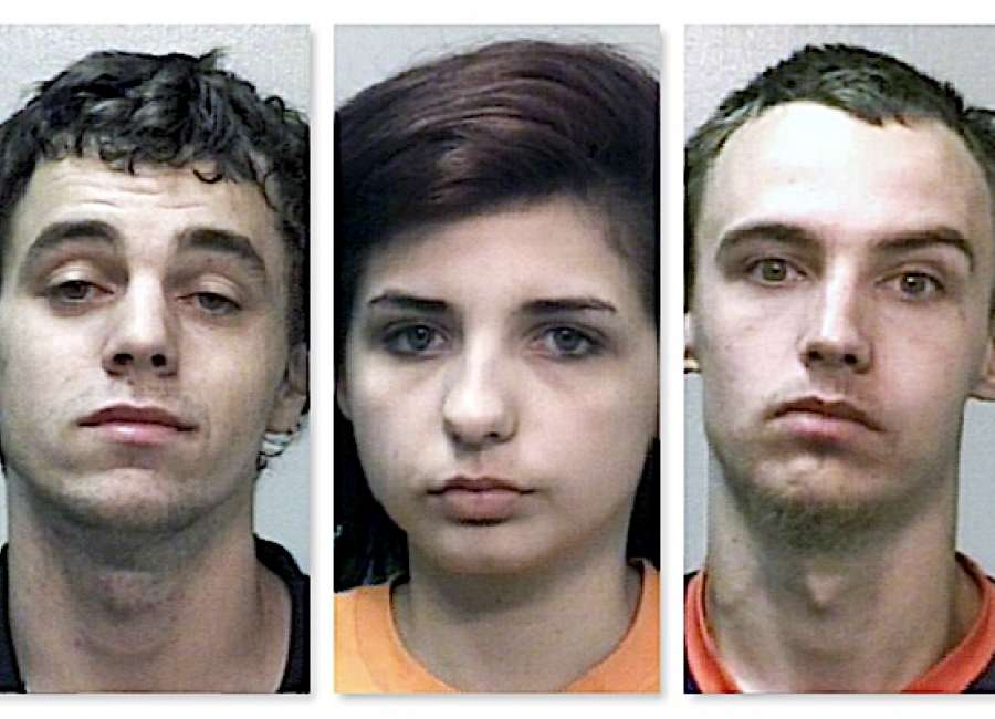 Three jailed on heroin, meth trafficking charges