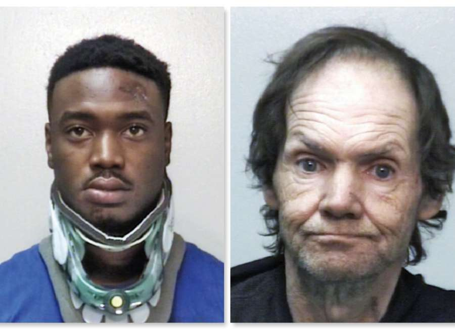 Two arrested in high-speed pursuits