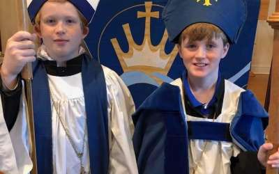 Two chosen as Nicholas bishops for Christ the King