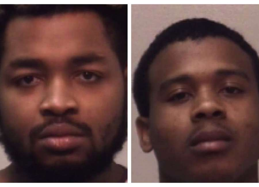 Two men found guilty in armed robbery case