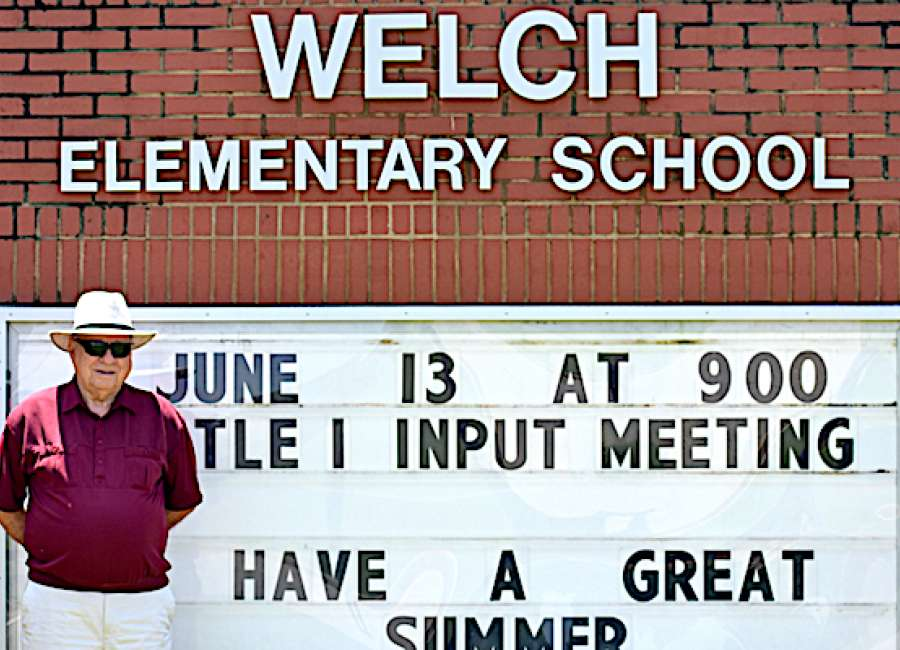Welch looks back over decades-long career