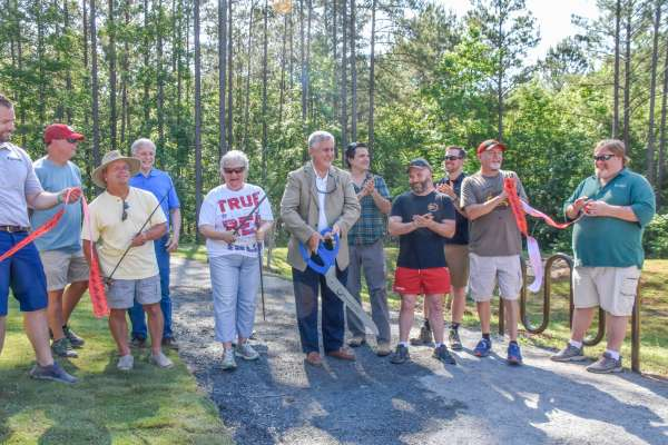 Bike trails officially open at Brown's Mill