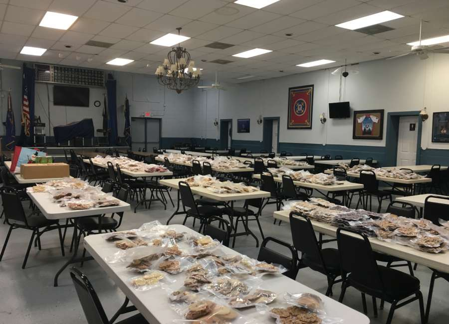 Bomber Girls donate more than 900 dozen cookies to soldiers