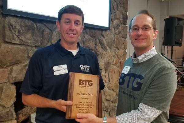 BTG shares its story over pancakes