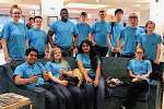 CEC TriBots team competes in Savannah