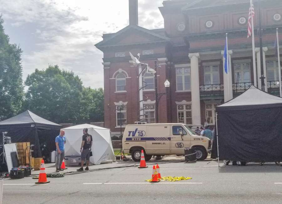 'Conjuring 3' production in downtown Newnan