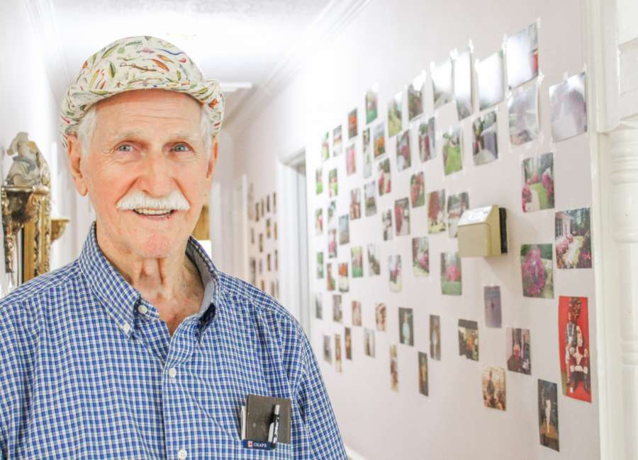 House full of late wife's images helps local man deal with grief