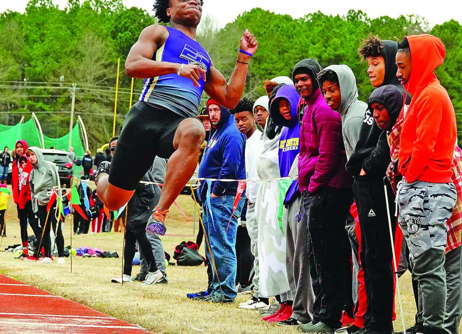 Indians, Cougars rack up 60-point efforts in separate meets