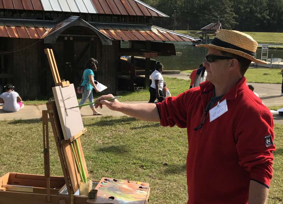 Local artists taking part in Open Air Meriwether