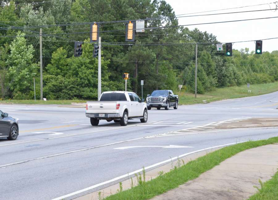 Lower Fayette/154 to get turn arrow