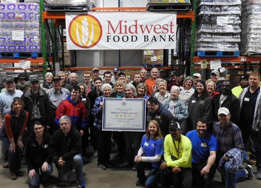 ​  Midwest earns 4-Star rating from Charity Navigator