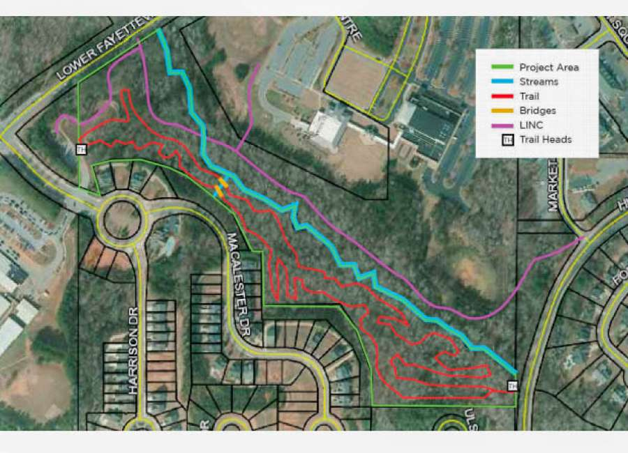 Mountain bike trail approved for LINC section