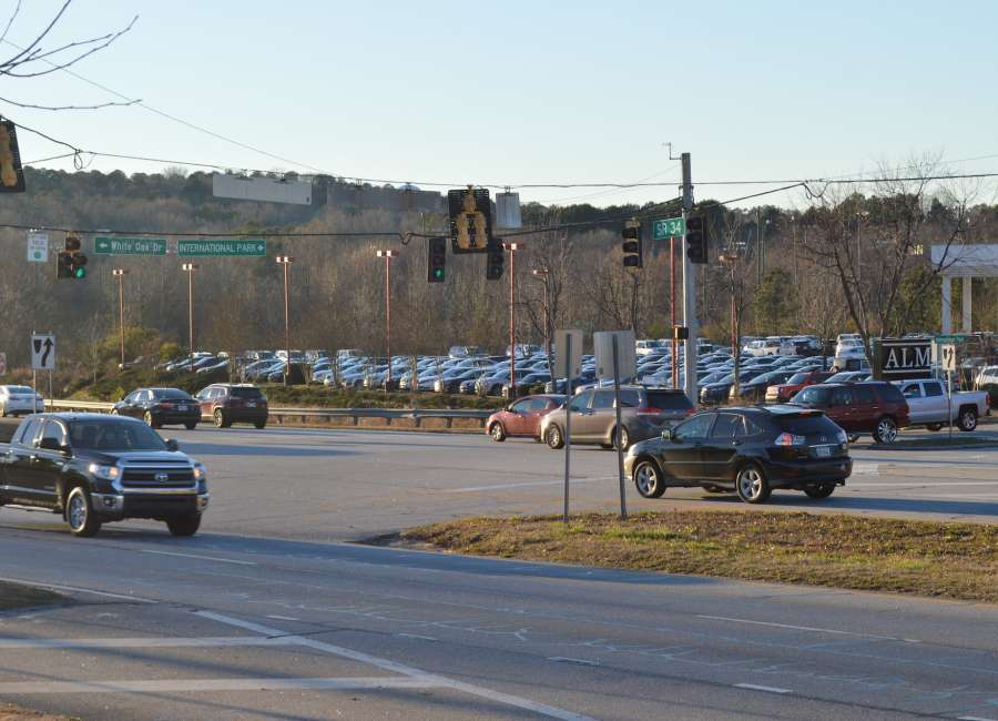 New turn lanes coming to International Park/White Oak Drive
