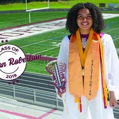 Northgate salutatorian Morgan Robertson found a way to master academics, athletics on and off the field