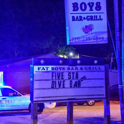 One hospitalized after shooting at bar