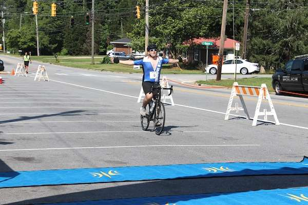 Police and Fire Games kick off with bike race