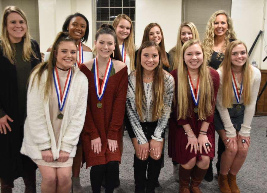 Repeat state champion Northgate Viking cheerleaders honored