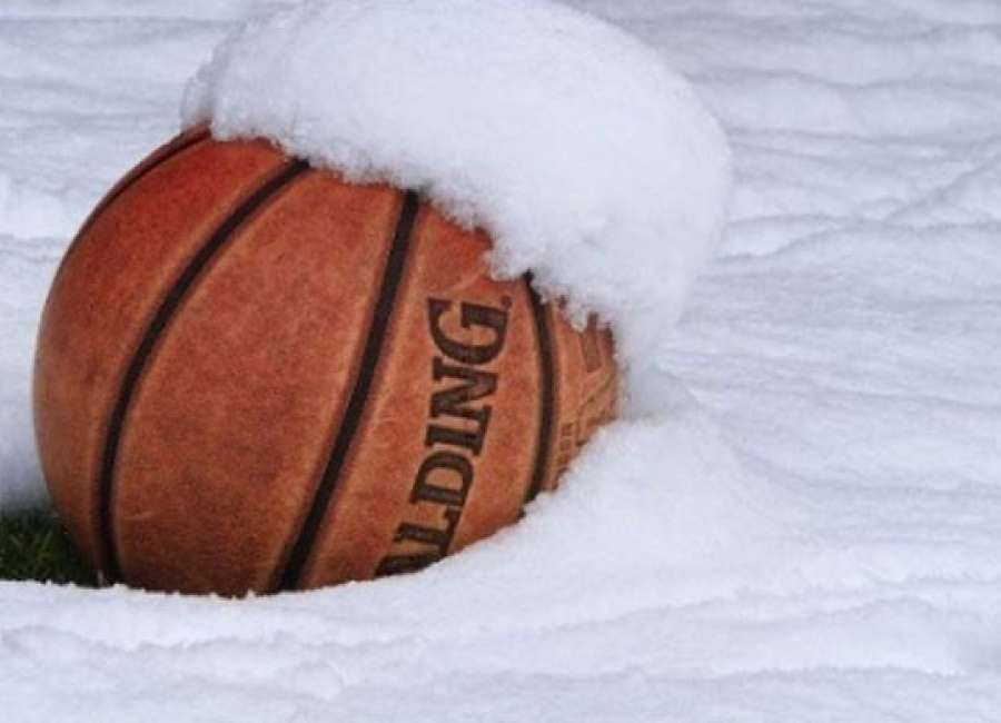 Snow Jam: Local high school basketball games called off for