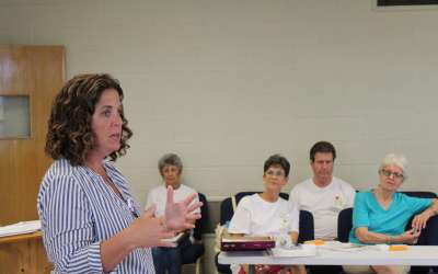 Speech pathologist visits local Parkinson's support group